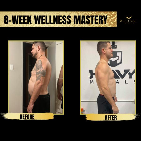 transformation, 8 week wellness mastery